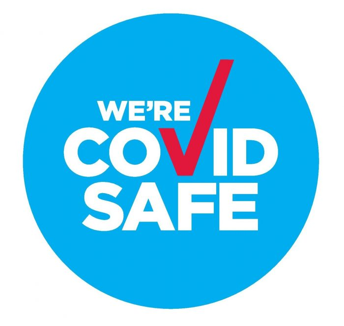 Covid safe badge A3 page 001